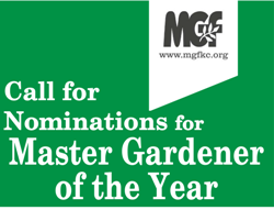 Call for Nominations for Master Gardener of the Year