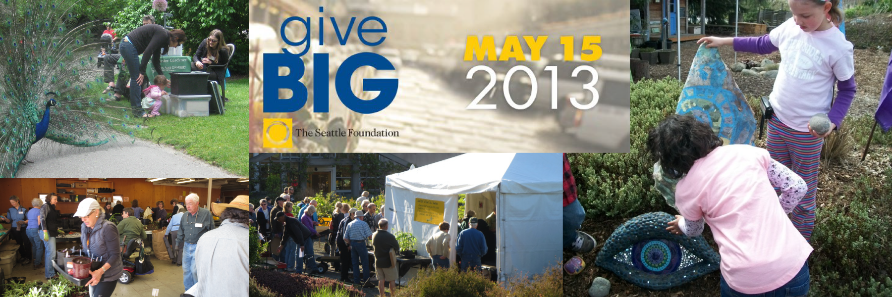 GiveBig to the Master Gardener Foundation of King County on May 15