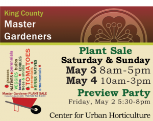2014 Master Gardener Plant Sale May 3 and 4