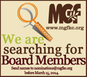 2014 MGFKC Board Search Ad