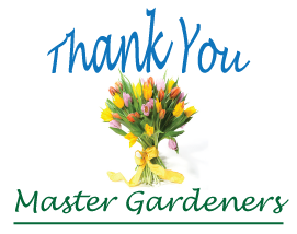 Thank You King County Master Gardeners