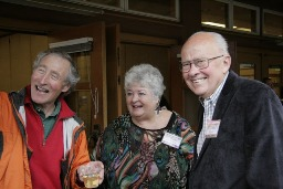 Ciscoe Morris and Ed Hume at the Preview Party in 2012